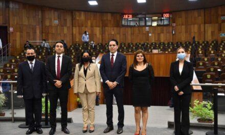 Nombra LXV Legislatura a Alfredo Corona y Magda Zayas como Comisionados del IVAI
