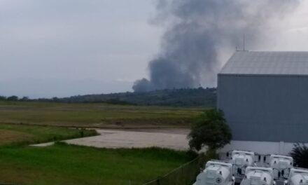 Se registra incendio en una Bodega de reciclaje en Estanzuela