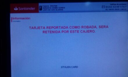Banco Santander reporta falla a nivel nacional, en plena quincena y día feriado