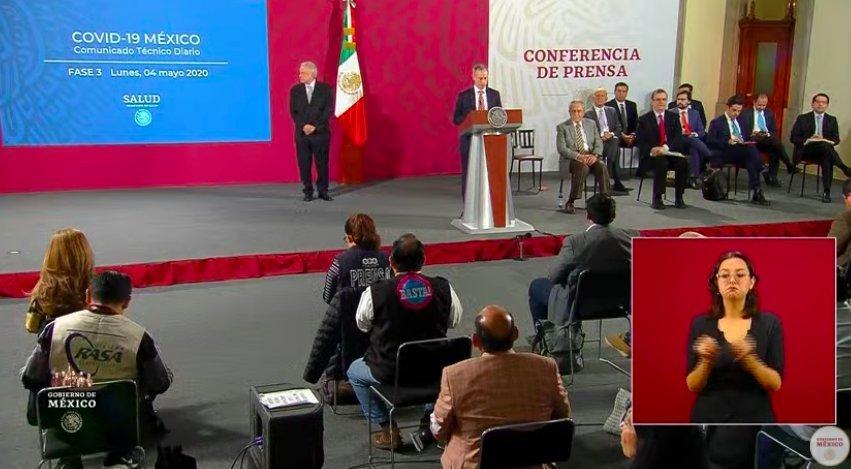 Hay 85 camas ocupadas en terapia intensiva por COVID-19 en el estado de Veracruz: Hugo López Gatell