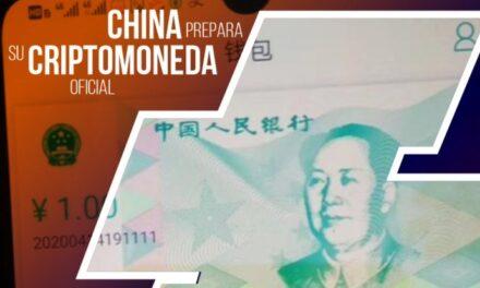 Lanzan en China el e-RMB; moneda virtual que planea enfrentar al dólar