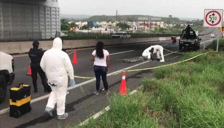 Muere trabajador al caer de puente en la carretera Veracruz – Cárdel, realizaba mantenimiento