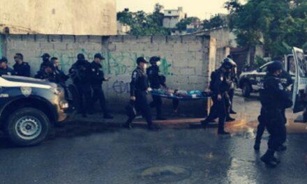 En Xalapa, un hombre herido de bala, la tarde-noche de este domingo en la colonia Arboledas del Tronconal