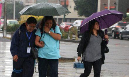 Prevén fuertes lluvias para la mayor parte de México