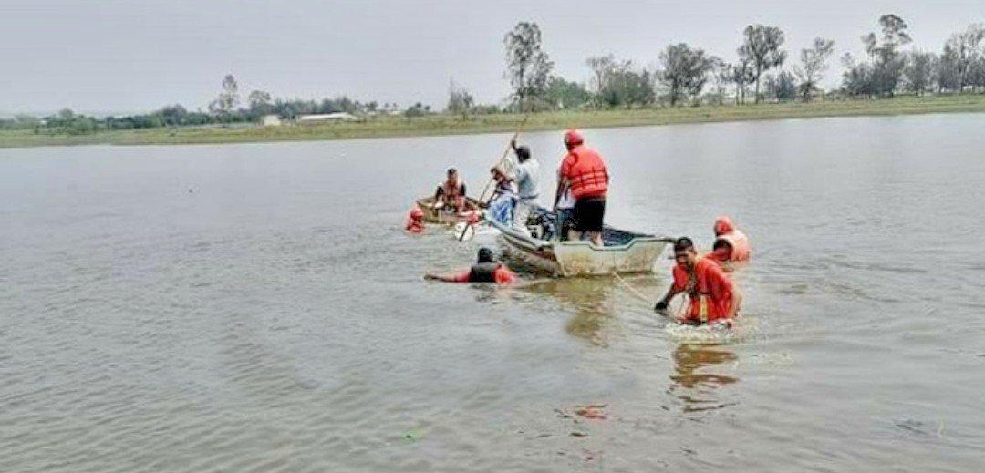 Rescataron cuerpo de joven que murió en la laguna de Miradores