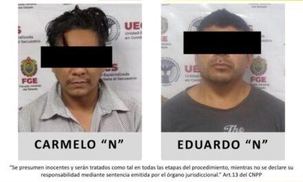 Los vinculan a proceso a dos sujetos por secuestro en la zona centro