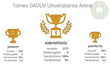 Surgen campeones del Torneo de Ajedrez Online