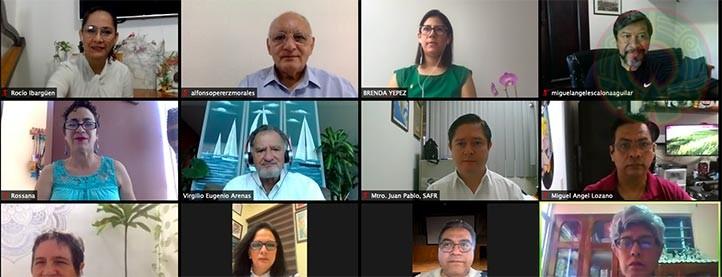 Ulises Gonzalo Aguirre, Juan Pablo Munguía, Antonia Barranca, Miguel Ángel Escalona, Rossana Inés Castellanos y Alicia Elena Urbina