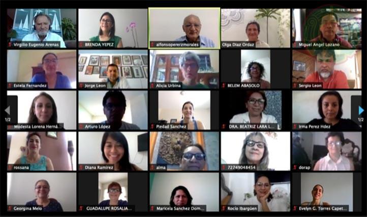 Enlaces docentes de la región Veracruz