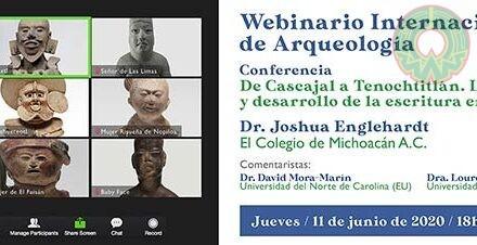 Bloque de Cascajal, tema del Webinario Internacional de Arqueología