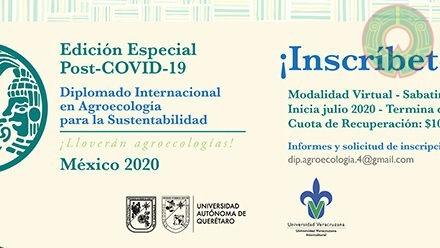 UVI convoca a Diplomado Internacional en Agroecología para la Sustentabilidad