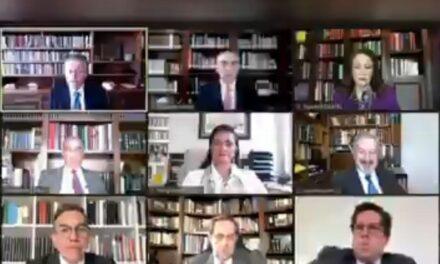 """Grabación de """"se compran colchones o algo de fierro viejo"""" interrumpe sesión virtual de Suprema Corte (+Video)"""