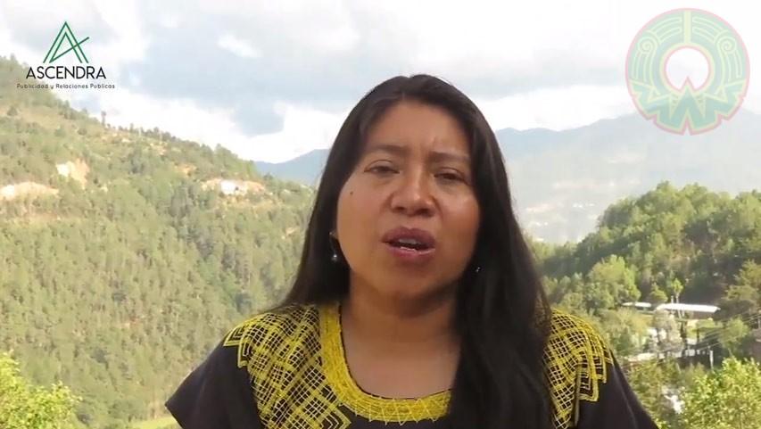 Zenaida Pérez Gutiérrez, defensora de los derechos humanos y de los pueblos indígenas