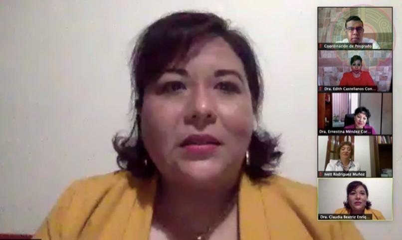 Claudia Beatriz Enríquez Hernández, directora de la Facultad de Enfermería