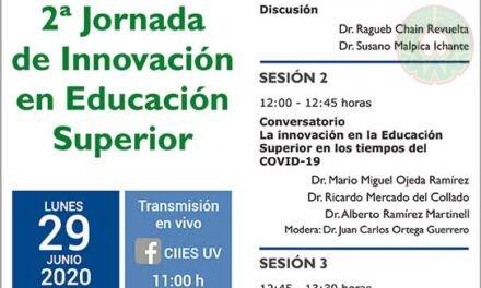 CIIES-UV realizará 2ª Jornada de Innovación en Educación Superior
