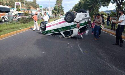 Accidente sobre el bulevar Xalapa-Banderilla, a la altura del CETIS,