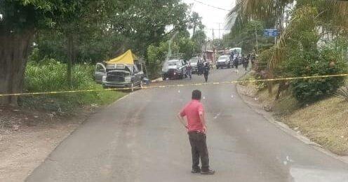 Ejecutan a hombre en la carretera estatal Córdoba-Amatlán, a la altura de la calle 53, en la colonia Pénjamo.