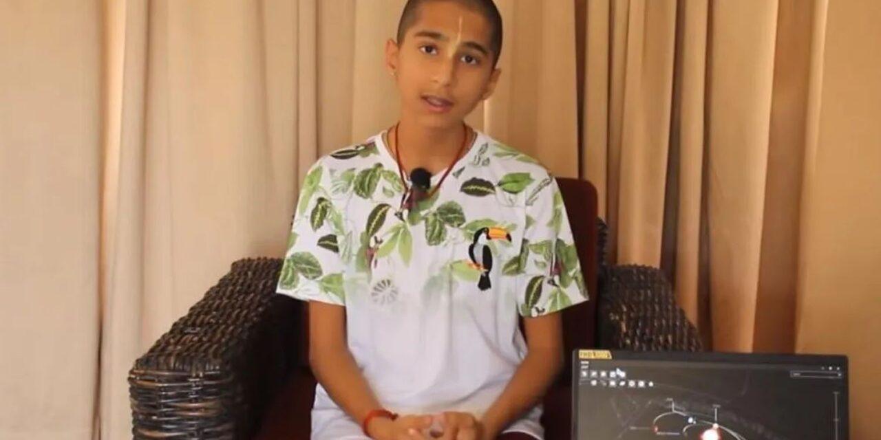 Abhigya Anand: el adolescente que predijo el coronavirus ahora afirma que vendrá algo peor en diciembre