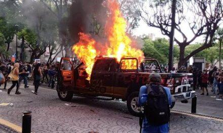 Ya son 26 detenidos por protestas en Guadalajara