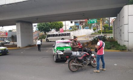 Dos accidentes de tránsito durante  la tarde de este sábado en Xalapa