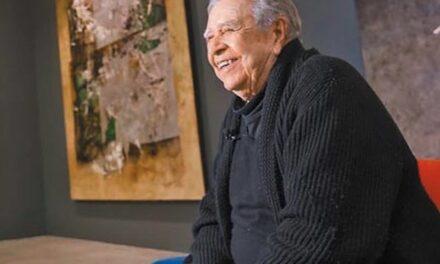 Murió Manuel Felguérez, reconocido pintor y escultor zacatecano. Impulsor del arte abstracto en México.