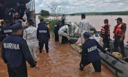 Corriente de río arrastra a familia en Campeche; muere un menor