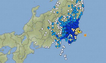 Ahora tiembla en Japón; sismo de 6.2 grados sacude su costa Este