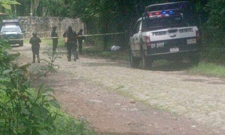 Ejecutan a una persona en el municipio de Coatepec, movilización en la zona