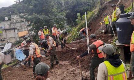 Activa SSP Plan Tajín para auxiliar a población afectada por fuertes lluvias en Xalapa y Tlalnelhuayocan