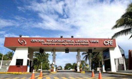 CFE reporta 55 contagios y un fallecimiento de covid-19 en la Central Nucleoeléctrica Laguna Verde