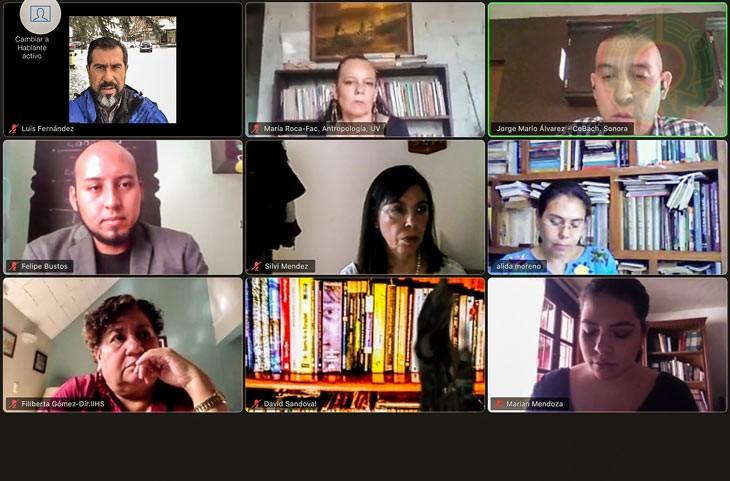 Egresados y académicos del Doctorado en Historia y Estudios Regionales se reunieron virtualmente