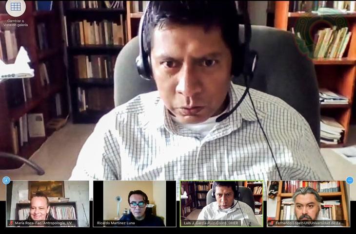 Luis García destacó la presencia en el evento de integrantes de nueve generaciones del posgrado
