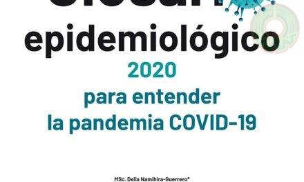 UV y UNAM publican glosario epidemiológico para entender la pandemia