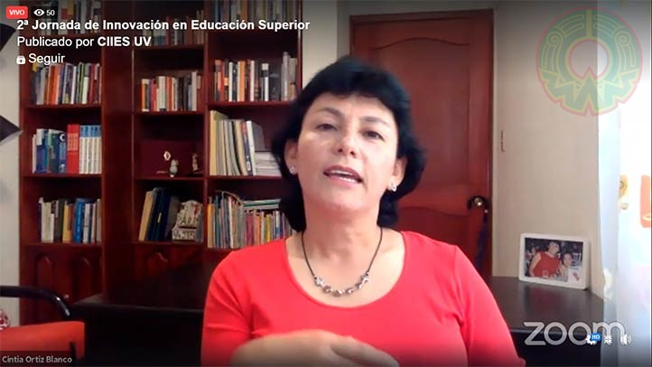 Cintia Ortiz, de la BENV, habló sobre la colaboración entre los CA de ambas instituciones