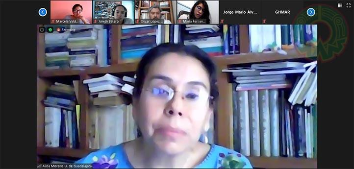 Alida Genoveva Moreno Martínez, del Centro Universitario de Ciencias Sociales y Humanidades de la UdeG