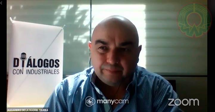 Alejandro de la Madrid Trueba, presidente de la Canacintra Delegación Xalapa