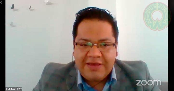 El director del sector educativo de KWT Consulting, S.A. de C.V., Eric Cruz de la Luz