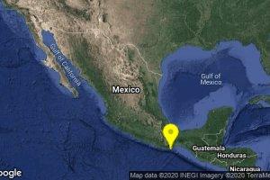 Se registra sismo de 5.3 en Crucecita, Oaxaca; no se reportan daños