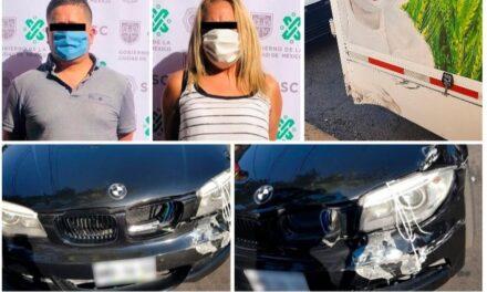 Monta choques! Un delito en aumento, los delincuentes provocan choques vehiculares, agreden e intimidan a las víctimas para exigir fuertes sumas de dinero.