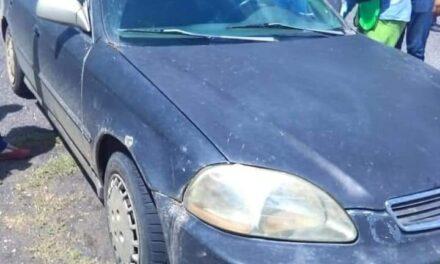 Lo sorprendió la muerte cuando se encontraba abordo de su auto, en una gasolinera sobre la carretera federal Paso del Toro – Alvarado.