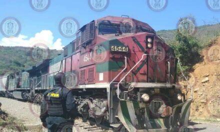 Frustra IPAX robo a tren de Ferrosur, en Veracruz