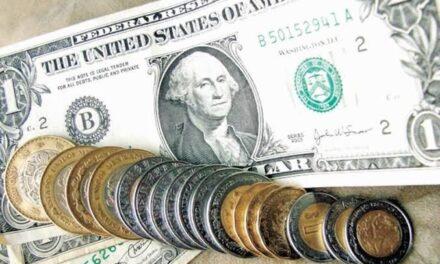 Peso gana más de 1%; dólar se vende en $22.15