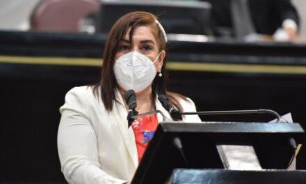 Lacerante y Vergonzoso solicitar actas de cabildo a Congreso: diputada Rosalinda Galindo