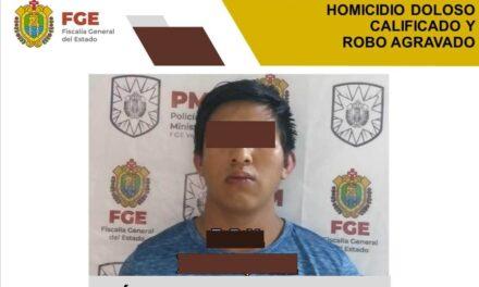 Obtiene FGE vinculación a proceso contra probable homicida y ladrón en Xalapa