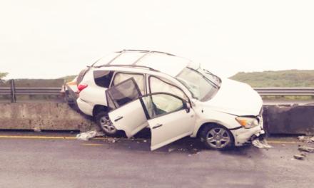 Salieron de Xalapa, pero sufrieron accidente en la carretera Cardel – Poza Rica, a la altura de la La Mancha
