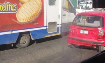 Se registra choque en la carretera Xalapa – Veracru z, a la altura de Las Trancas