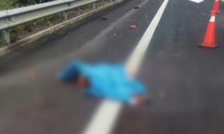 Muere hombre arrollado por un tráiler en el libramiento Cardel-Xalapa
