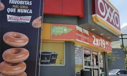 OXXO venderá las famosas donas Krispy Kreme