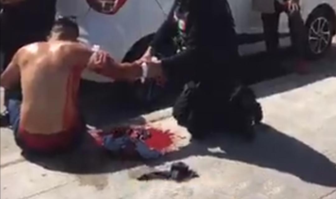 Vacacionistas del Estado de México originan riña en Villa del Mar, varios heridos.