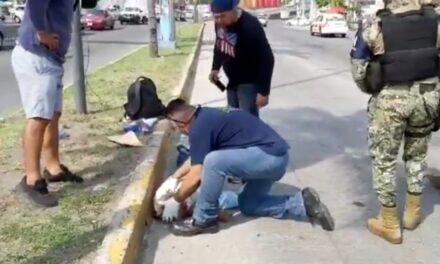 Atropellan a persona de la tercera edad en Boca del Río, conductor se dio a la fuga